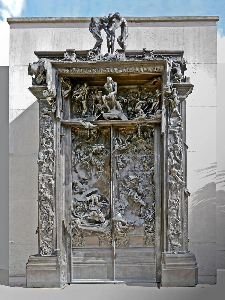 Aguste Rodin Doors by Thomas Barker-Detwiler