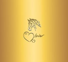 "I-Pad case ""Horselover"" - sungolden edit by scatharis"