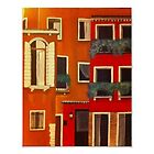 """Venice in Red""  by Melissa Goza"