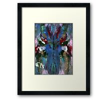 BLUE MOOSE Framed Print