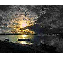 """ Drifting Under An Autumnal Sky "" Photographic Print"