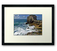 """"""" Pulpit Rock """" Framed Print"""