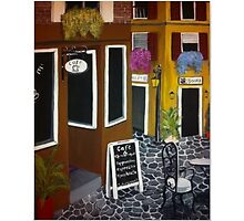 """Cafe in Venice""  by Melissa Goza"