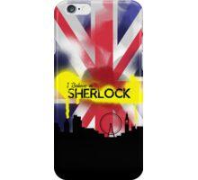 Sherlock in London iPhone Case/Skin