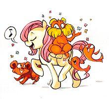 Pony Seuss- Fluttershy/Lorax by ciritus