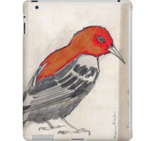 Black & Red Think iPad Case/Skin