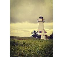 Lonely Lighthouse - Prince Edward Island Photographic Print