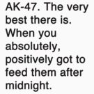 Misquotes - AK-47 by Jamie Meakin