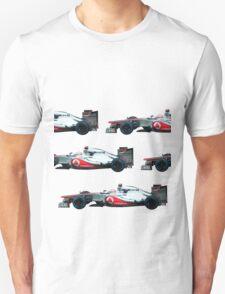 Jenson Button F1 car Unisex T-Shirt