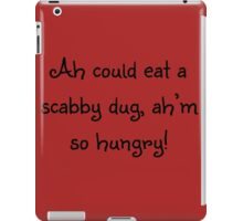 The Scabby Dug iPad Case/Skin