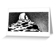 The Deep Hole of the Waiting  Greeting Card