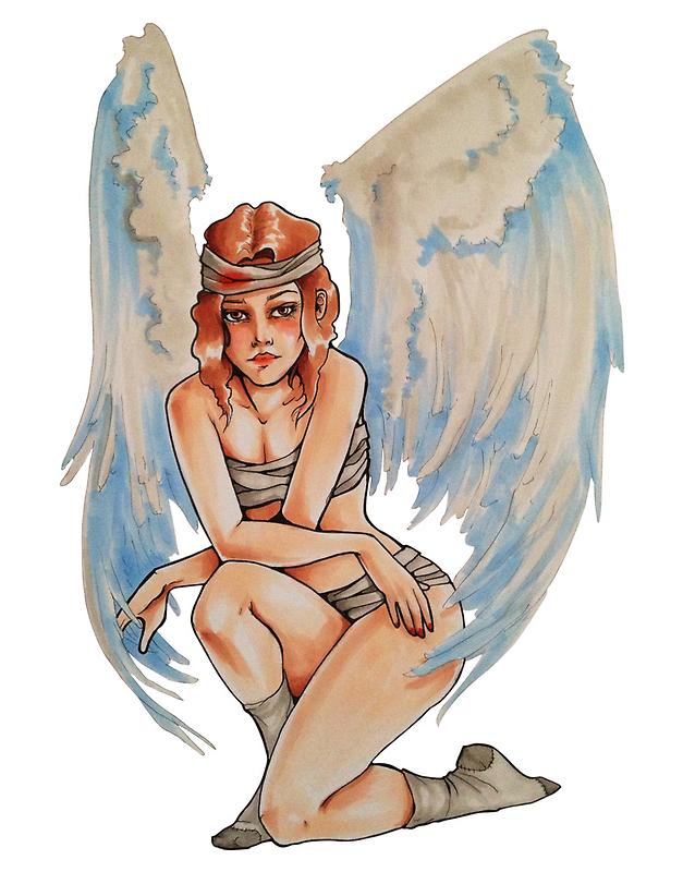 Tough Angel by Iman Khondker