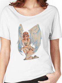 Tough Angel Women's Relaxed Fit T-Shirt