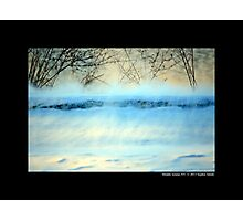 Winter Breeze By The Spring Lake - Middle Island, New York Photographic Print