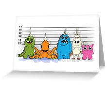 The Unicorn Suspects Greeting Card