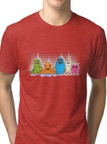 The Unicorn Suspects Tri-blend T-Shirt