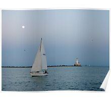Navy Pier Lighthouse  Poster