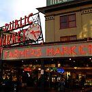 Seattle Public Market  by bron stadheim
