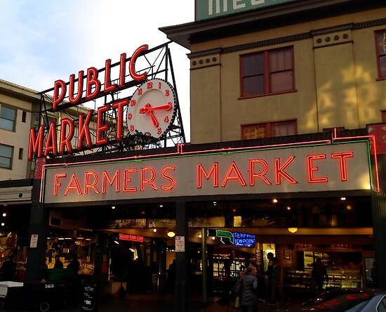 Seattle Public Market  by bron stadheim