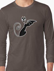 Don't sneak up on me like DRAT! #000 + #fff Long Sleeve T-Shirt