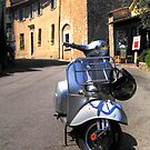 Vespa in Mougins by kurtolo