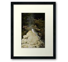 Lady Knox Geyser Framed Print