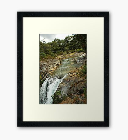 Lord of the river Framed Print