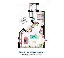 "Penny's apartment from ""TBBT"" Photographic Print"