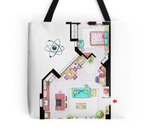 """Penny's apartment from """"TBBT"""" Tote Bag"""