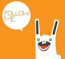 Follow The White Rabbit by volkandalyan