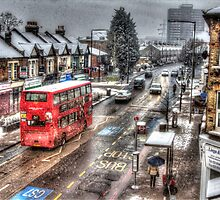 London Snow by JPAube