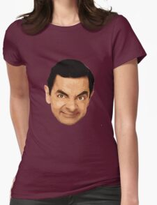 Mr. Bean Womens Fitted T-Shirt