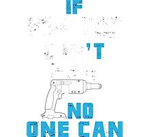 If Pop-Pop Can't Fix It No One Can - Tshirts & Accessories Photographic Print