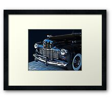 1941 Cadillac Convertible Grill Detail Framed Print