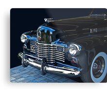 1941 Cadillac Convertible Grill Detail Metal Print