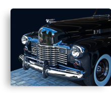 1941 Cadillac Convertible Grill Detail Canvas Print