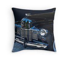 1941 Cadillac Convertible Grill Detail Throw Pillow
