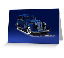 1937 Packard Formal Sedan w/o ID Greeting Card