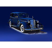 1937 Packard Formal Sedan w/o ID Photographic Print