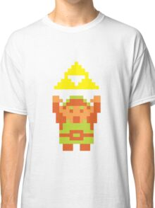 Pixel Link With A Triforce Classic T-Shirt