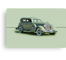 1935 Buick Series 60 Club Sedan w/o ID Canvas Print