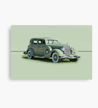 1935 Buick Series 60 Club Sedan w/o ID Canvas Print