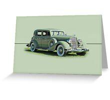 1935 Buick Series 60 Club Sedan w/o ID Greeting Card