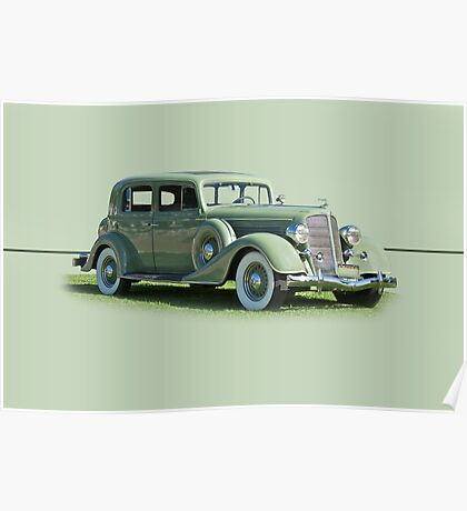 1935 Buick Series 60 Club Sedan w/o ID Poster