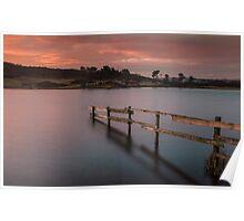 Early Morning On Knapps Loch Poster
