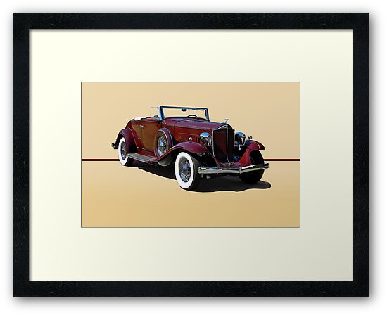 1932 Packard 900 Convertible Coupe w/o ID by DaveKoontz