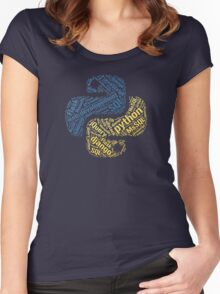 Python Programmer T-shirt & Hoodie Women's Fitted Scoop T-Shirt