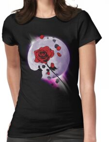 Crystal Clear Hero Womens Fitted T-Shirt