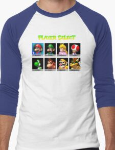 Player Select Men's Baseball ¾ T-Shirt