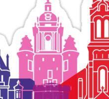 La Rochelle skyline pop Sticker